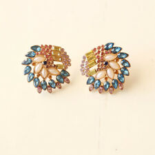 New Baublebar Acrylic Big Stud Earrings Gift Fashion Women Party Holiday Jewelry