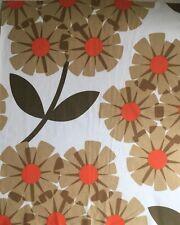 ~ 25cm x 51cm Long ORLA KIELY Rhododendron Tea Rose Fabric Lightwei Cotton NEW