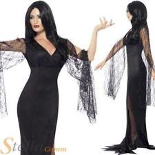 Disfraces de mujer brujas de poliéster de color principal negro
