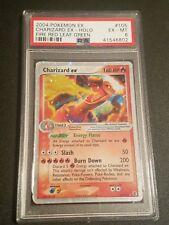 Charizard EX 105/112 PSA EX-MT 6 Ultra Rare Fire Red Leaf Green Pokemon Card