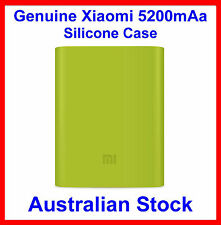 Genuine Soft Silicone Case Green for Xiaomi 5200mAh Power Bank