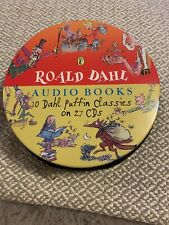 Roald Dahl 10 Puffin Classics Audiobooks 27 CDs in carrying tin