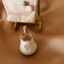 DOLLS HOUSE SLIPPER BATH JUG  TOWEL RACK
