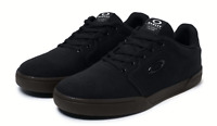 Oakley Mens Canvas Flyer Sneaker Durable Trainers Dull Onyx size Us 7 Uk 6