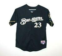 Milwaukee Brewers Rickie Weeks Jr. #23 Jersey Size Men's 48 (XL) Majestic MLB