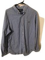 Polo Ralph Lauren Men's XL Button Down Shirt Long Sleeve Cotton Classic Fit