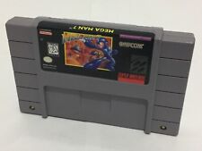 MegaMan 7  Snes Super Nintendo Cleaned Tested Working Authentic Mega Man