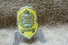 Luxembourg: Vintage 1970s Walking stick medallion.