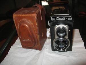 vintage CIRO-FLEX Model C wollensak 85mm 3.5 anastigmat rapax TLR CAMERA