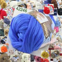 Sale 1 Ball x50g Super Soft Cotton Chunky Super Bulky Hand Shawl Knitting Yarn