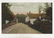 Crawley Lane Worth Sussex Vintage Postcard 611b