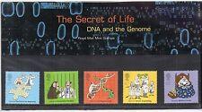 GB 2003 DNA segreto della vita FRANCOBOLLI presentazione Pack ref:pp9