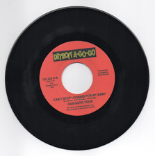 FANTASTIC FOUR Can't Stop Looking For My Baby NEW NORTHERN SOUL 45 Vinyl *Listen