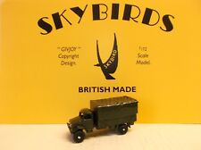 Skybird Models. 3 Ton Army Lorry. Canvas Top