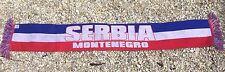 Serbia Montenegro Soccer Scarf