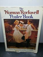 """Norman Rockwell Poster Book~20 Full Color~ HUGE 15""""x11"""" size~LARGE posters 1976"""