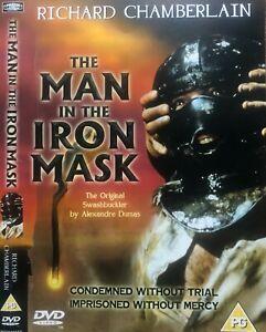 Man in the Iron Mask DVD Richard Chamberlain 1977 Movie Patrick McGoohan REGION2