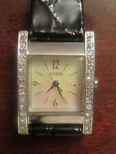 Women's Guess Watch, Genuine Mother of Pearl face, Leather Straps, BRAND NEW
