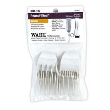 Wahl Peanut Comb Attachments Guards Set 4pk #3166 Peanuet Trimmer USA SELLE