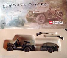 CORGI UNSUNG HEROES M151 Mutt Gun Truck and Trailer USMC - US50101