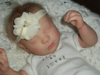 "Reborn Doll ""Realborn"" Priscilla Asleep, Belly Plate, 4 Lbs. 19"""