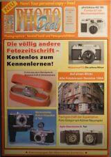 PHOTO DEAL Photodeal Sonderheft photokina 1994 Contax Robot Steineck Agfa Nikon