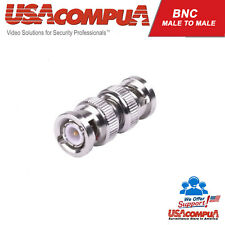 BNC Adapter  plug Male to BNC Male Connector straight M/M