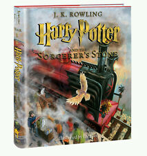 Harry Potter Sorcerer's Stone illustrated true US 1st Edition/1 Print 2015 book
