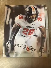 Marlon Humphrey Autographed 8X10 Alabama Photo w/ Coa