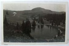 POSTCARD Gantrisch Seeli Lake, Switzerland; Real Photo; R. Wenger