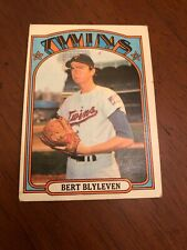 1972 Topps #515 Bert Blyleven Minnesota Twins VERY NICE CARD!!  BLAZER!!