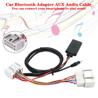 Car Bluetooth Adapter AUX Audio Cable Kit Set Fit for VOLVO C S V XC 30-90 Radio