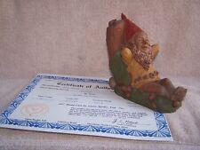 Tom Clark Gnome Saturday retired 1983 Coa