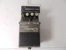 Vintage Boss RV-2 Digital Reverb Effects Pedal Free USA Shipping