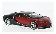 #24077 - Welly Bugatti Chiron - rot/schwarz - 2016 - 1:24