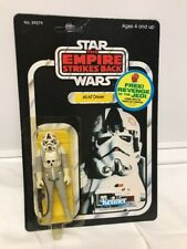 Kenner Star Wars Empire Strikes Back Unpunched AT-AT Driver ESB-48 Back