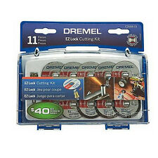 Dremel EZ 688-01 - 11 Piece EZ Lock Mini Cutting Accessory Kit