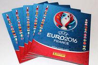 Panini UEFA EM EURO 2016 FRANCE – 5 x LEERALBUM EMPTY ALBUM INTERNATIONAL ED.