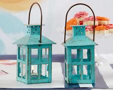 48  Vintage Blue Lanterns Bridal Shower Wedding Favors