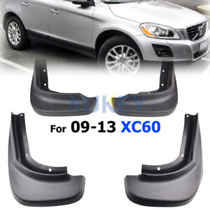 Front Rear Fender Fit For Volvo XC60 2009-2013 Mud Flaps Splash Guards Mudguards