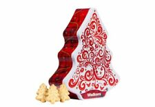 Walkers Shortbread Red & White Christmas Tree Tin 225g - Made in Scotland