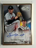 2018 Sean Newcomb Topps Gold Label Autograph Atlanta Braves Signed Card Auto