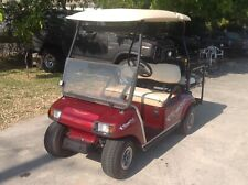 2002 custom Club Car DS gas golf Cart 4 passenger seat with canopy
