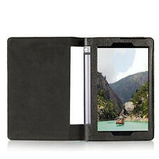NEW Flip Folio Leather Stand Case Cover For Lenovo Yoga Tab 3 8.0 Tablet