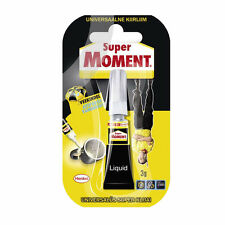 SUPER MOMENT Universal Glue Waterproof Water Resistant Strong Instant Adhesive