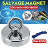 700KG Fishing Treasure Hunting Neodymium Pull Salvage Recovery Magnet+10M Rope