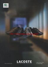 Lacoste Scope Club & Scope Funky Shoes 2000 Mag. Advert #1998