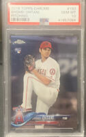 2018 Topps Chrome #150 Shohei Ohtani Pitching Angels RC Rookie PSA 10 GEM MINT