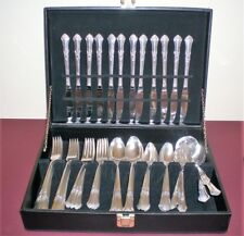 71 Statehouse Stately Sterling Silver Flatware 12, Serving Pieces Soup& Carving
