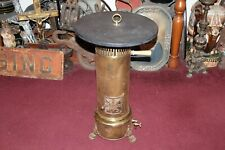Antique CH Andre & C. Paris France Parlor Heater Stove Wood Top Footed